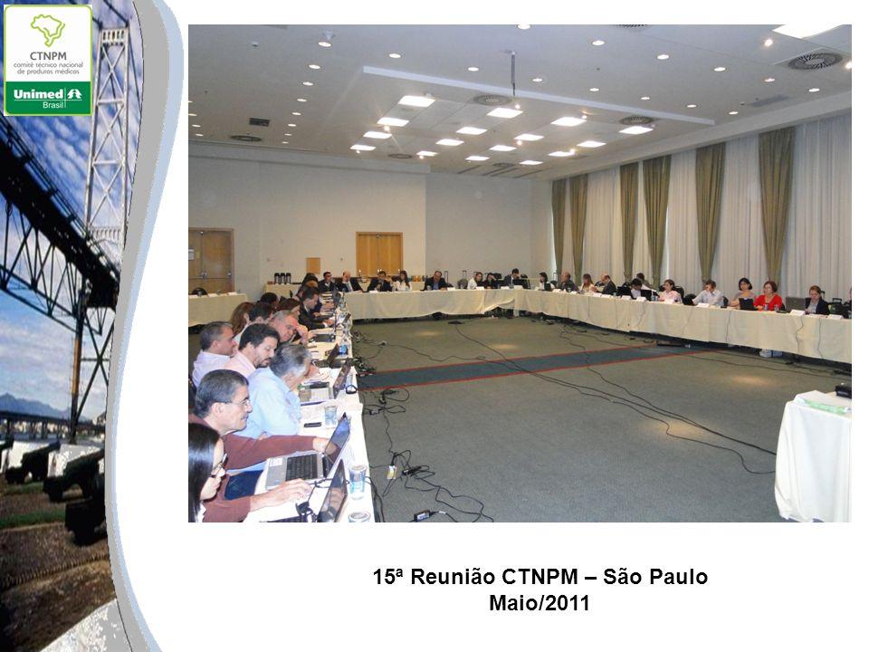 15ª Reunião CTNPM – São Paulo