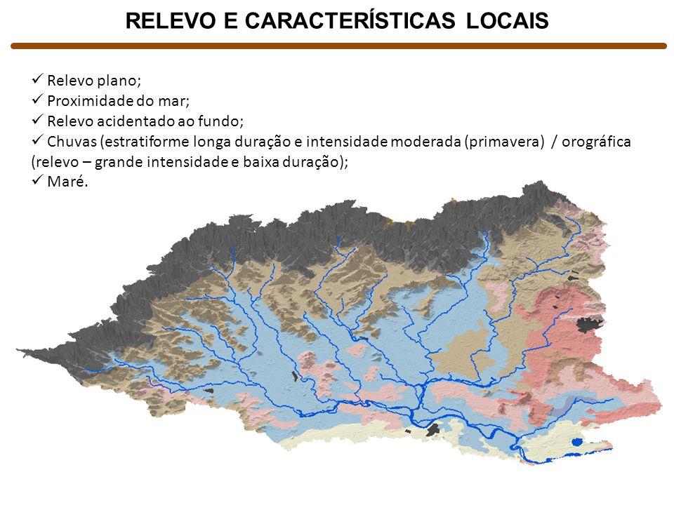 RELEVO E CARACTERÍSTICAS LOCAIS