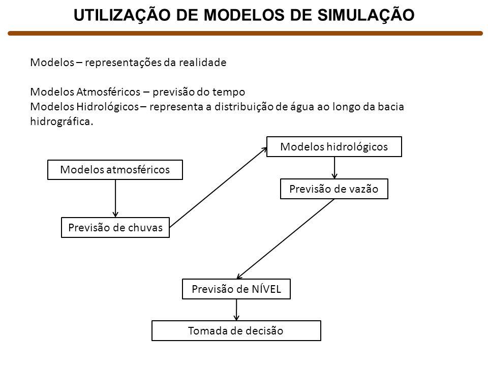 UTILIZAÇÃO DE MODELOS DE SIMULAÇÃO