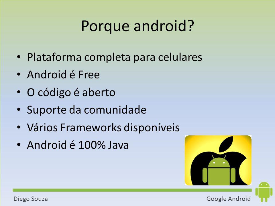 Porque android Plataforma completa para celulares Android é Free