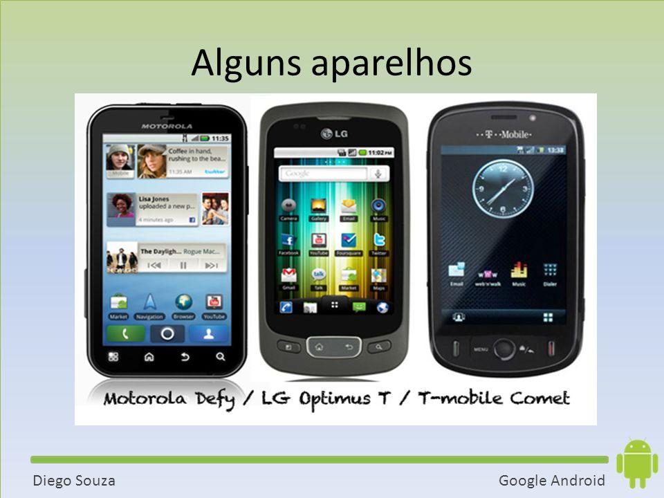 Alguns aparelhos