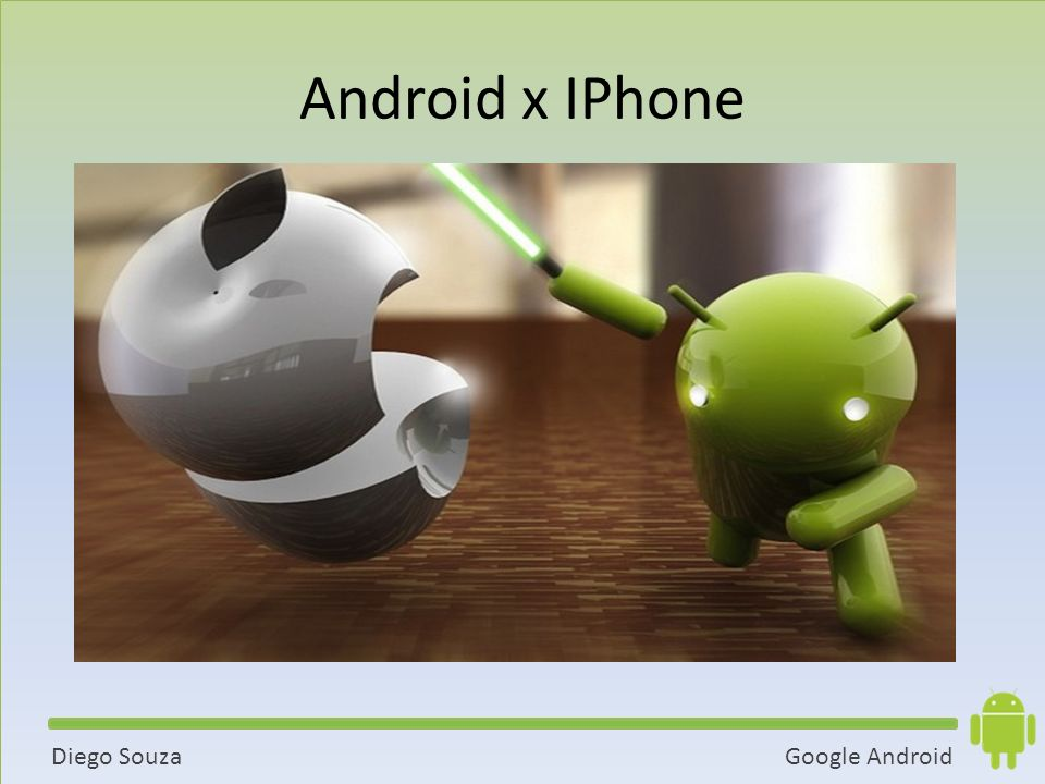 Android x IPhone