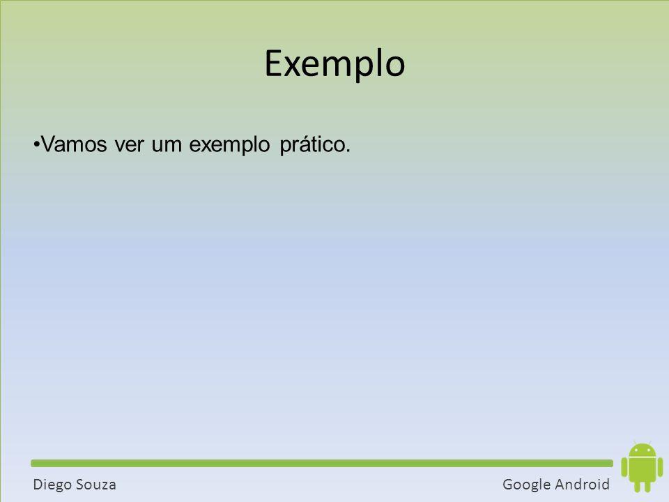 Exemplo Vamos ver um exemplo prático. 39