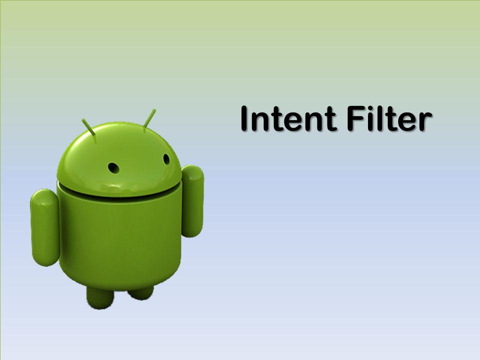 Intent Filter
