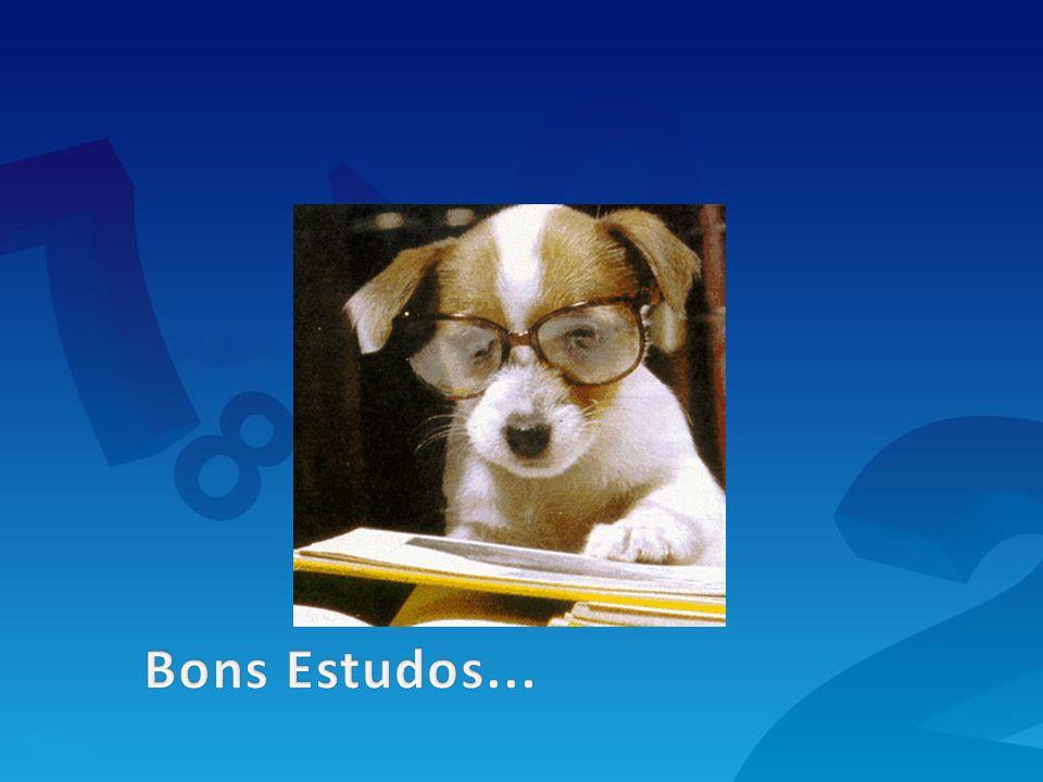 Bons Estudos...