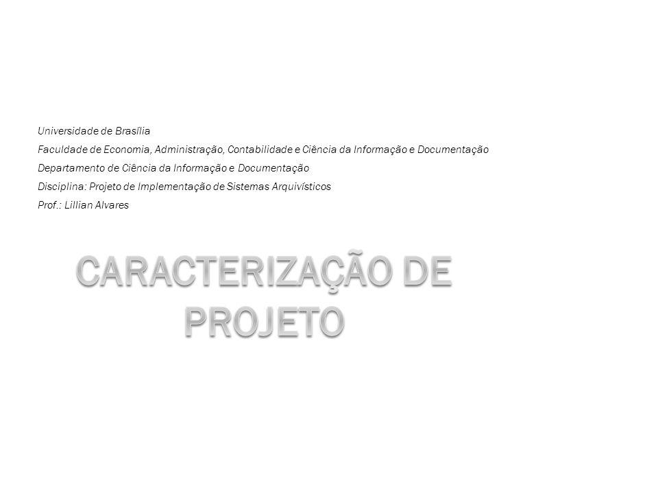 Caracterização de Projeto