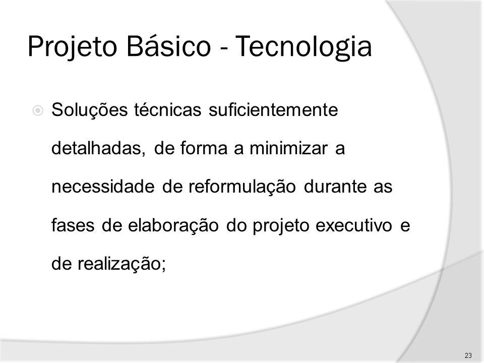 Projeto Básico - Tecnologia