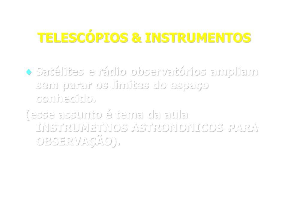 TELESCÓPIOS & INSTRUMENTOS