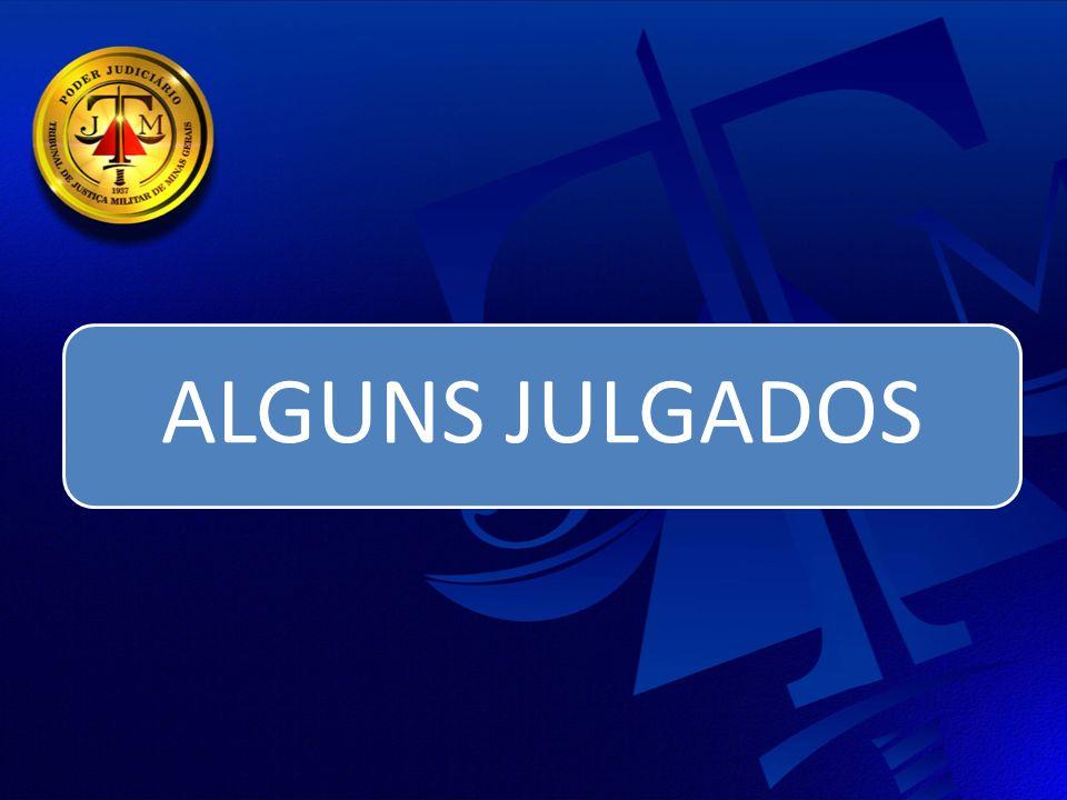 ALGUNS JULGADOS