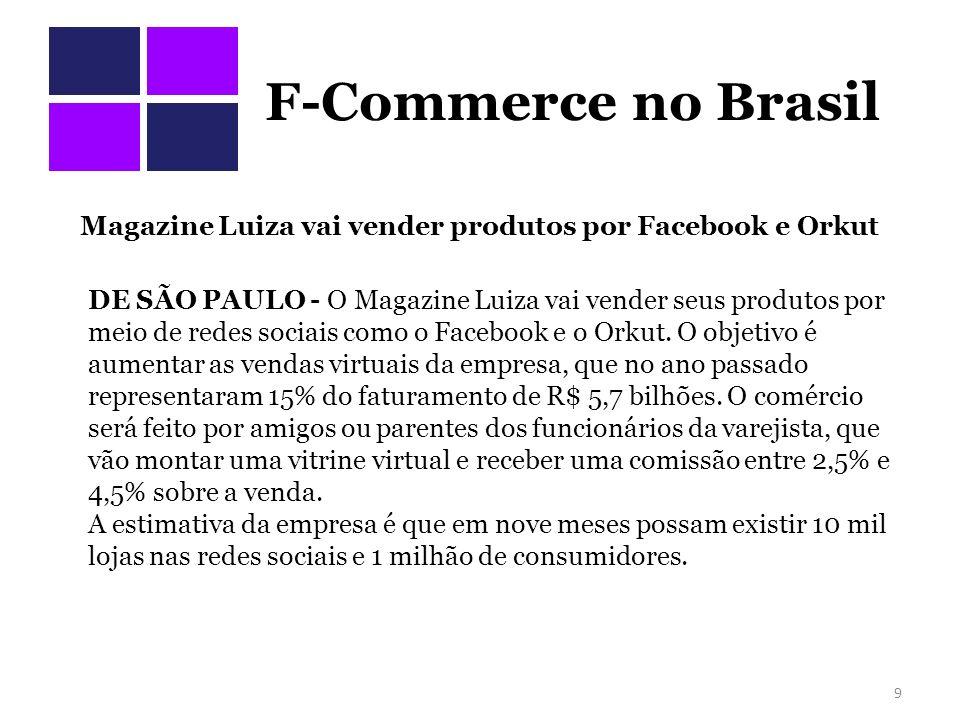 F-Commerce no Brasil