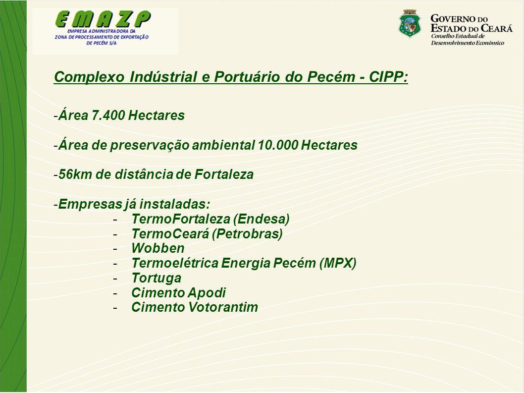 Complexo Indústrial e Portuário do Pecém - CIPP: