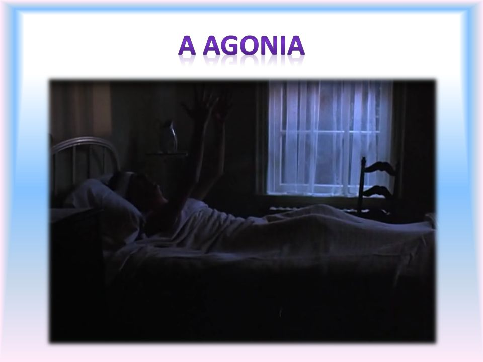 A agonia