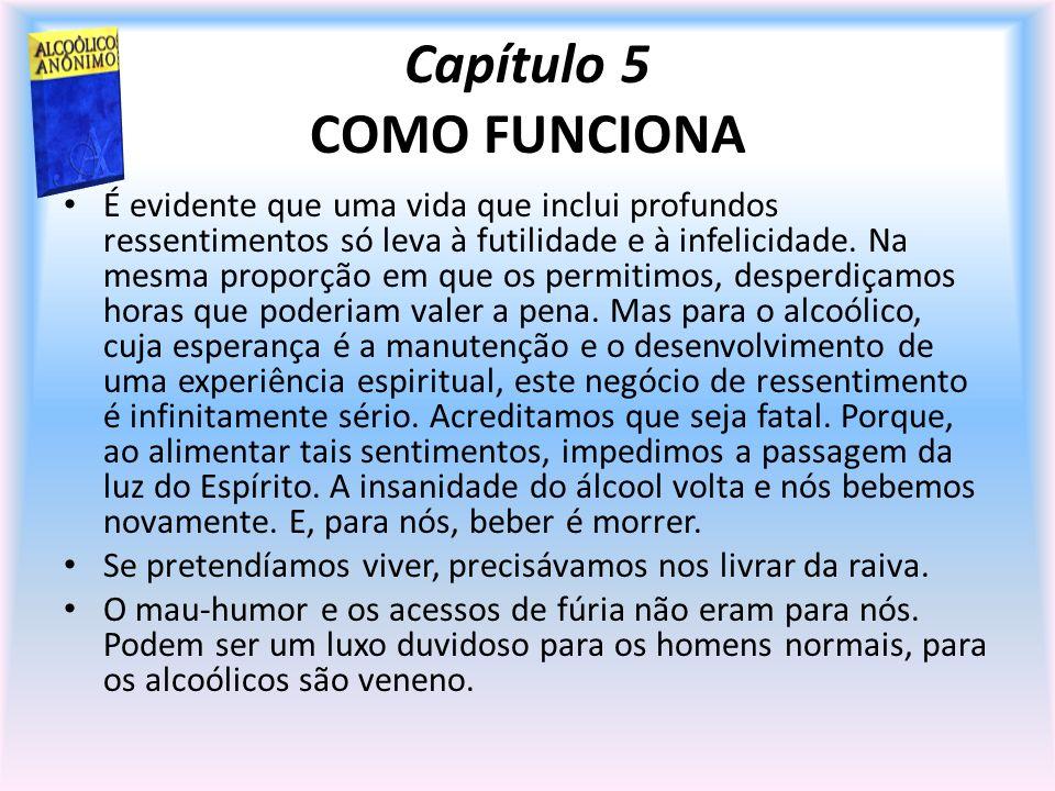 Capítulo 5 COMO FUNCIONA
