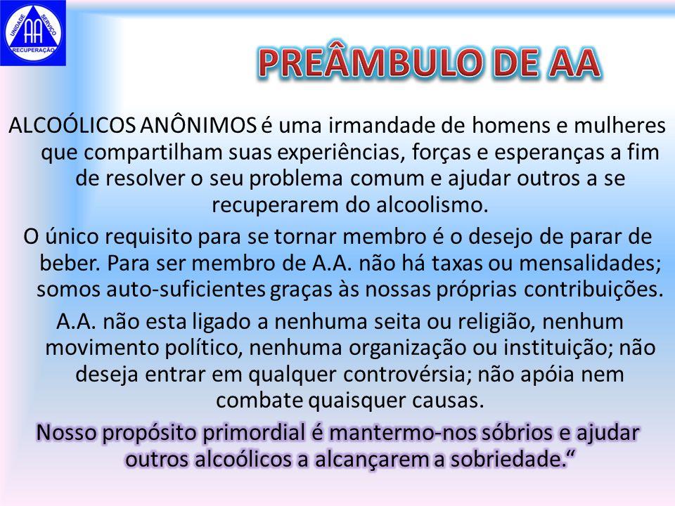 PREÂMBULO DE AA