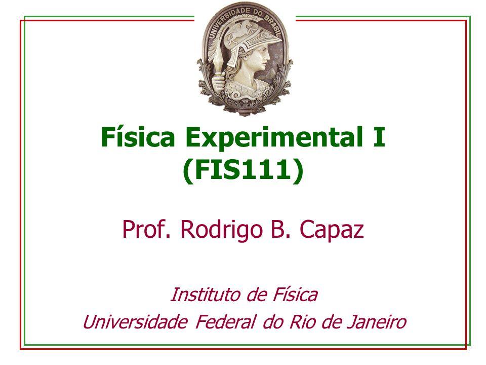 Física Experimental I (FIS111)