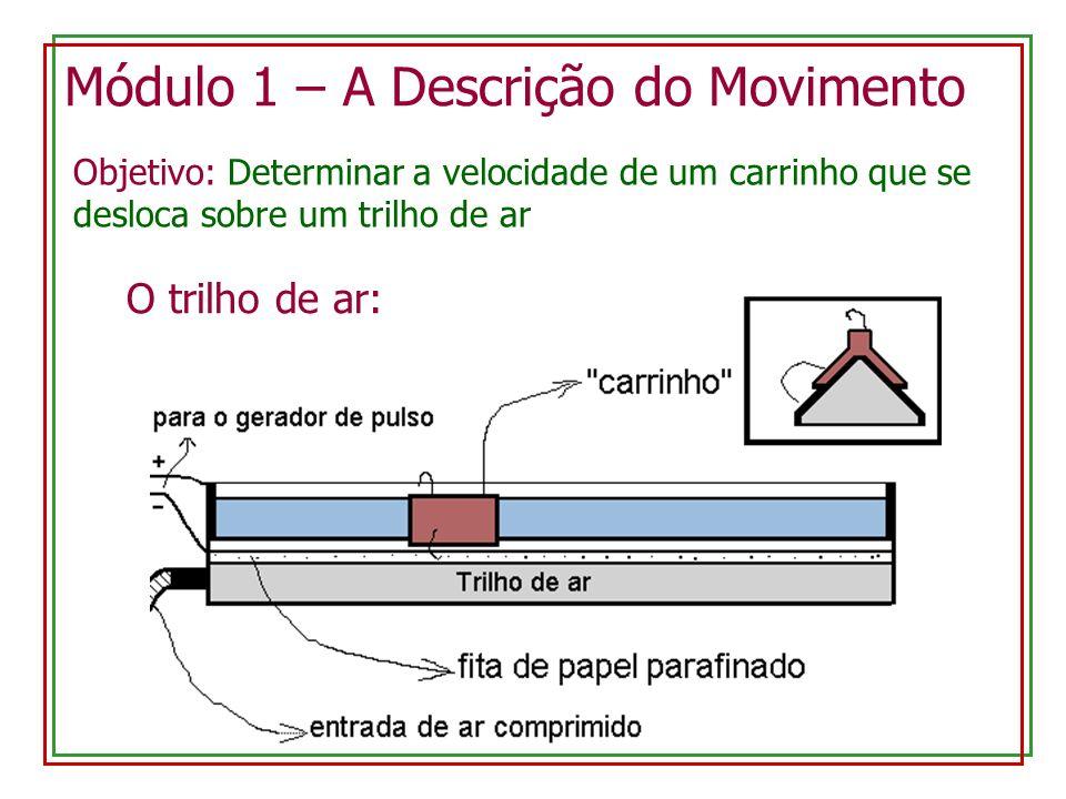 Módulo 1 – A Descrição do Movimento