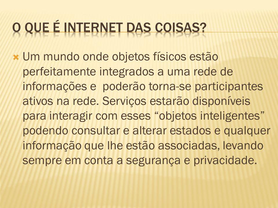 O que é internet das coisas