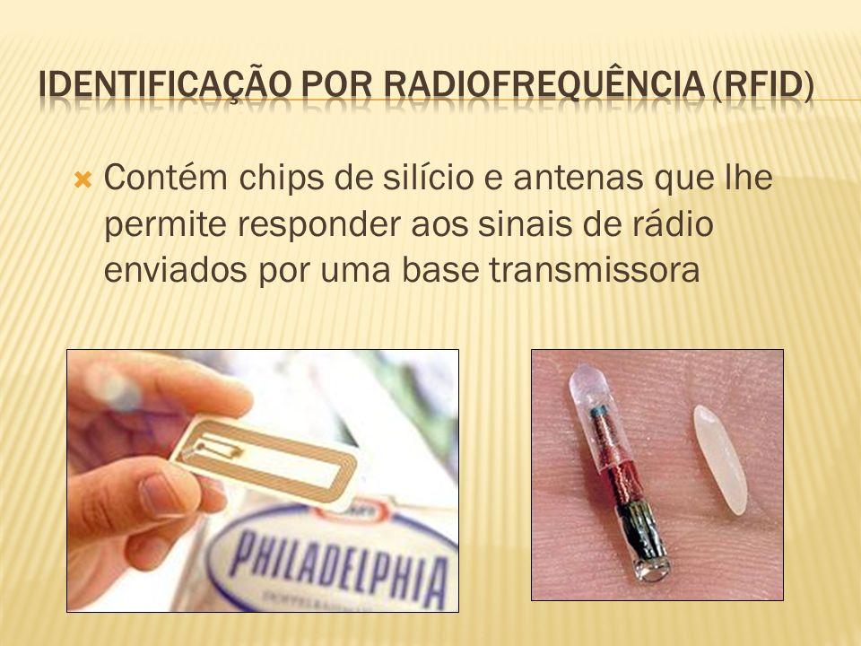 Identificação por radiofrequência (RFID)