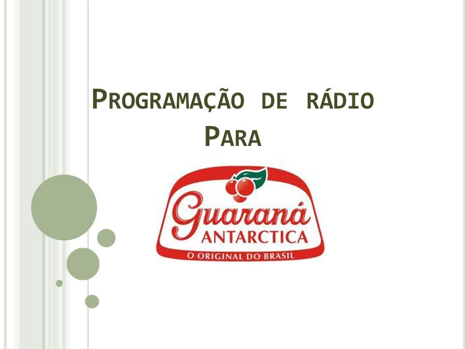 Programação de rádio Para