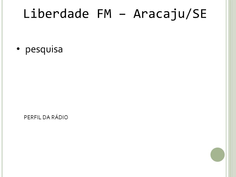Liberdade FM – Aracaju/SE