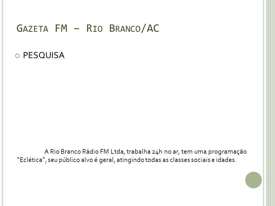 Gazeta FM – Rio Branco/AC
