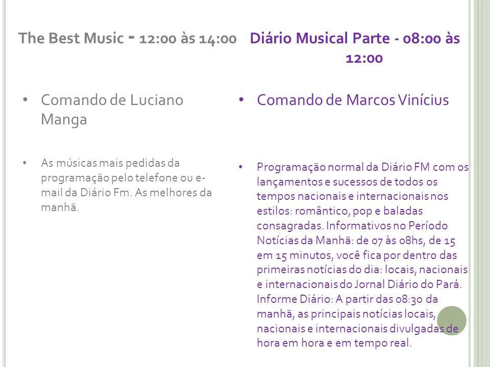 Diário Musical Parte - 08:00 às 12:00