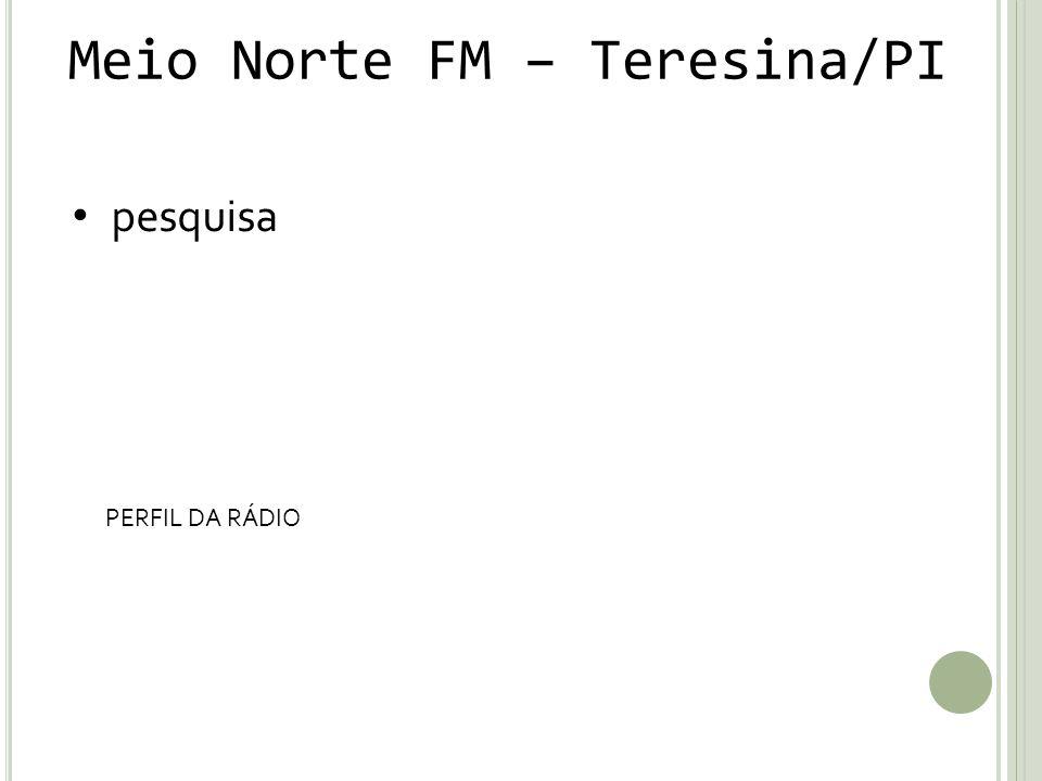 Meio Norte FM – Teresina/PI