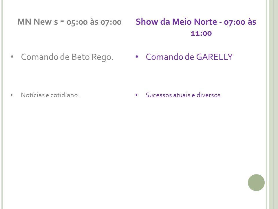 Show da Meio Norte - 07:00 às 11:00