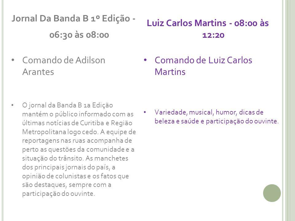 Jornal Da Banda B 1º Edição - 06:30 às 08:00