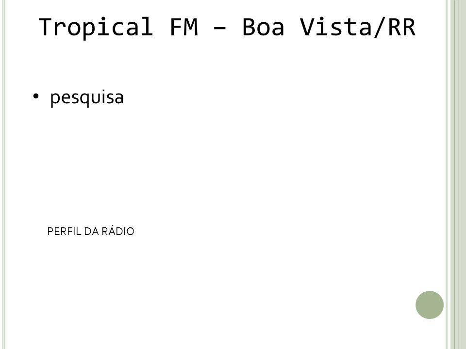 Tropical FM – Boa Vista/RR
