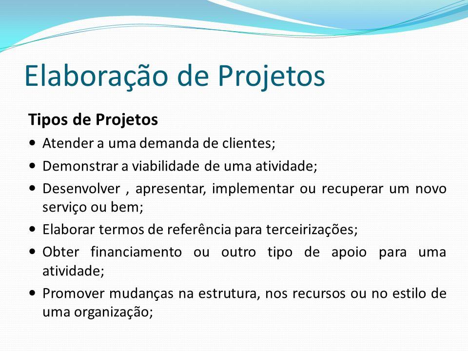 Elaboração de Projetos