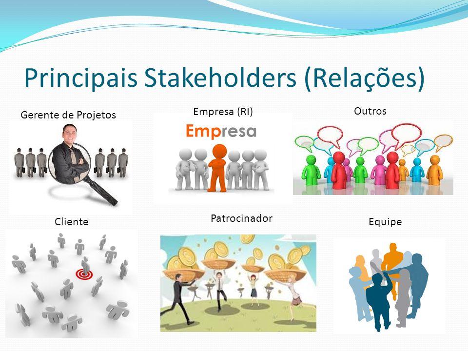 Principais Stakeholders (Relações)