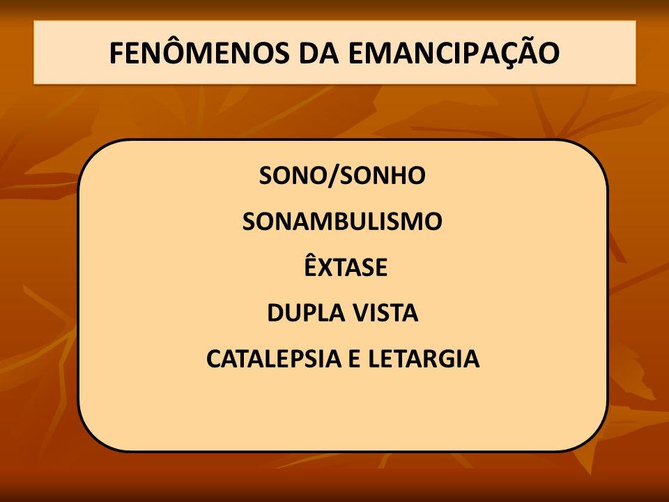 FENÔMENOS DA EMANCIPAÇÃO