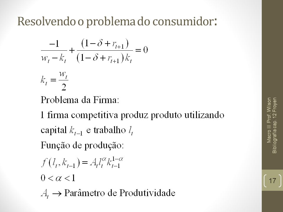 Resolvendo o problema do consumidor: