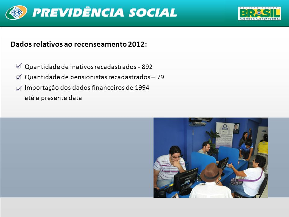 Dados relativos ao recenseamento 2012: