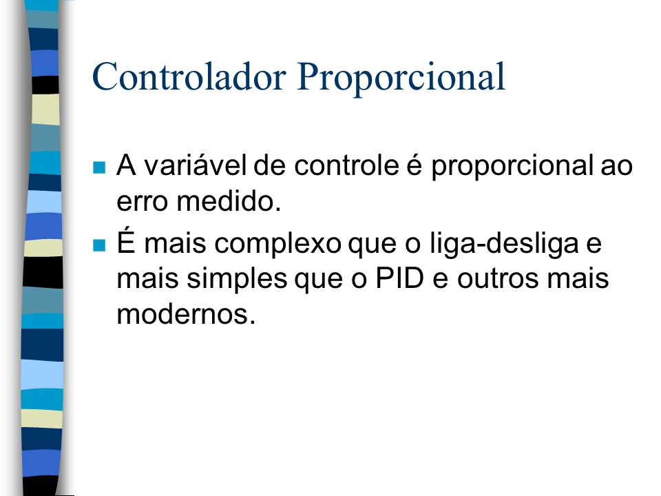Controlador Proporcional