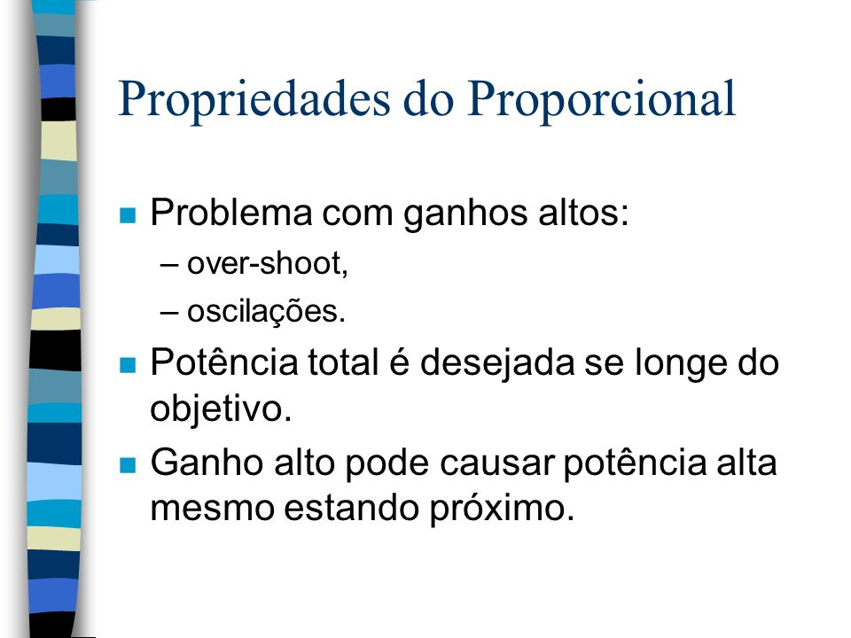 Propriedades do Proporcional