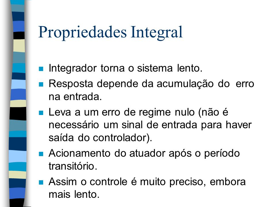 Propriedades Integral