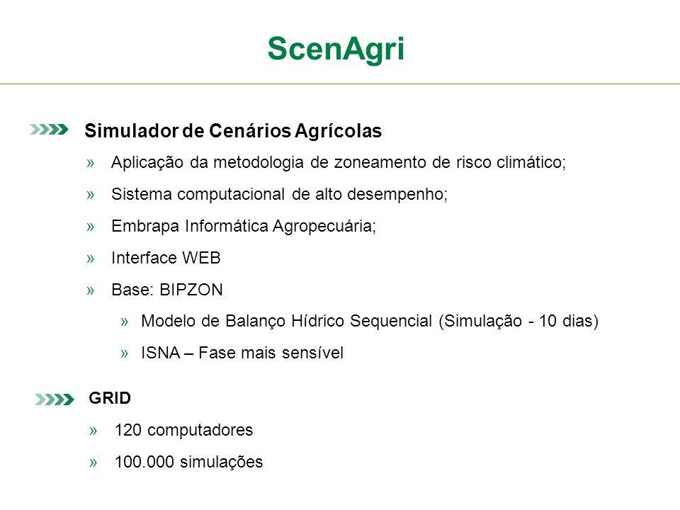 ScenAgri Simulador de Cenários Agrícolas