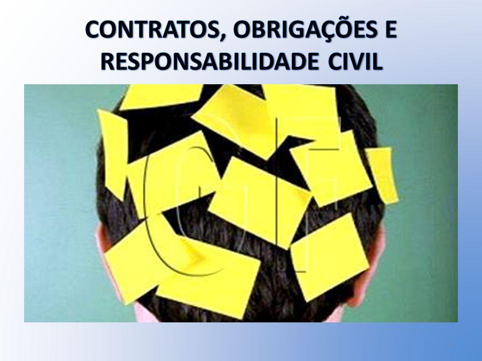 CONTRATOS, OBRIGAÇÕES E RESPONSABILIDADE CIVIL