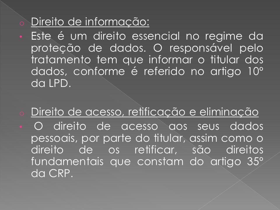 Direito de informação: