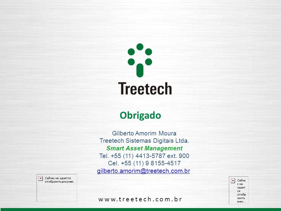 Obrigado www.treetech.com.br Gilberto Amorim Moura