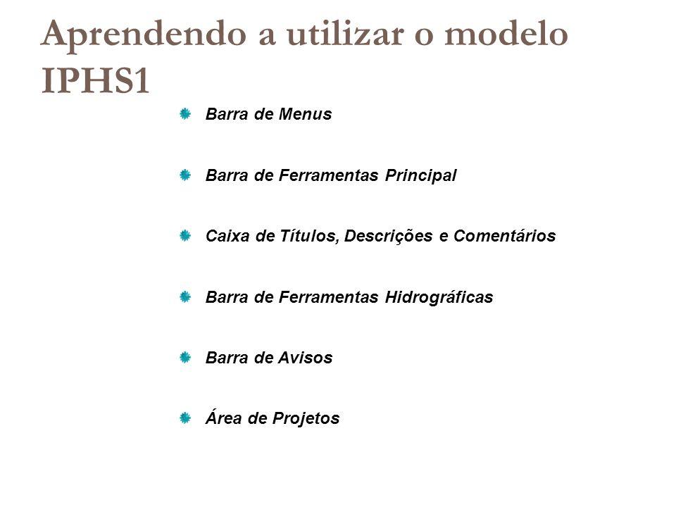 Aprendendo a utilizar o modelo IPHS1