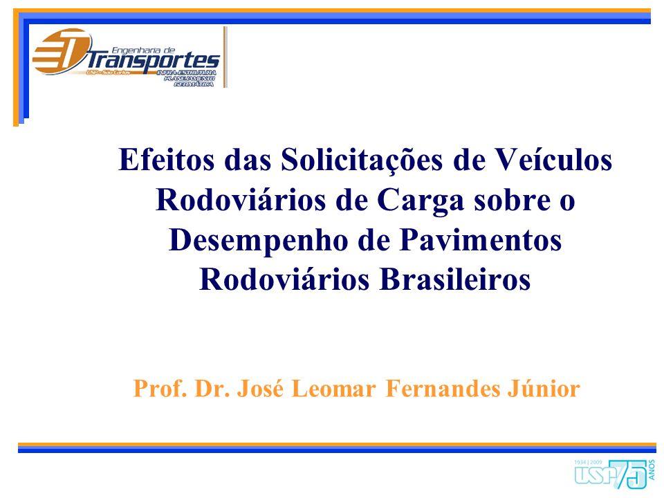 Efeitos das Solicitações de Veículos Rodoviários de Carga sobre o Desempenho de Pavimentos Rodoviários Brasileiros