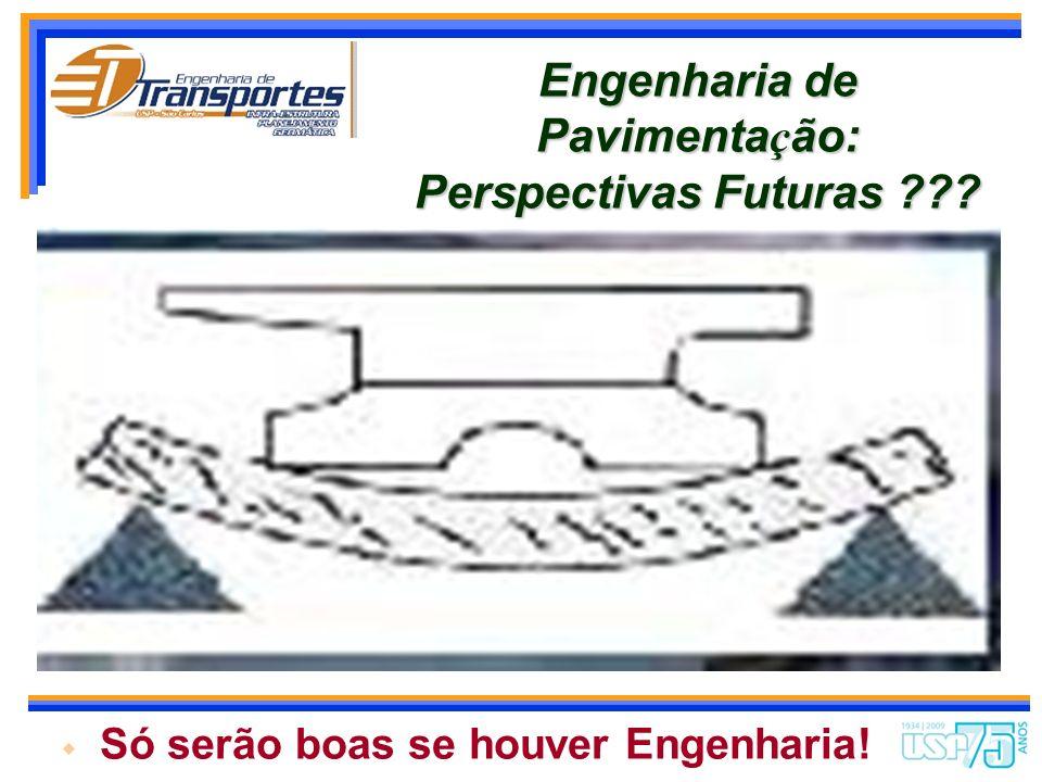 Engenharia de Pavimentação: Perspectivas Futuras