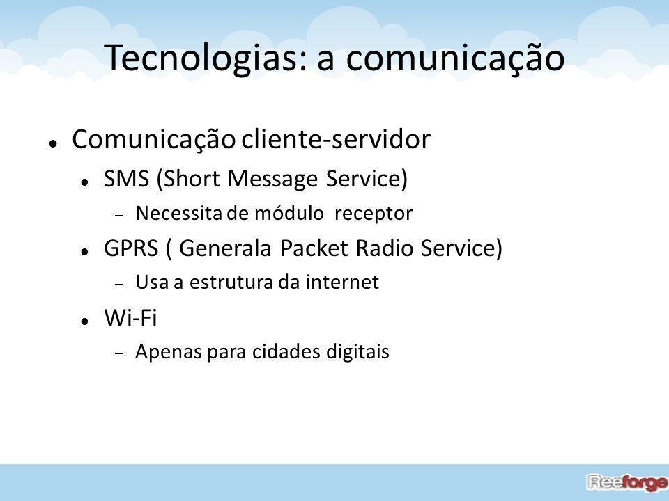 Tecnologias: a comunicação
