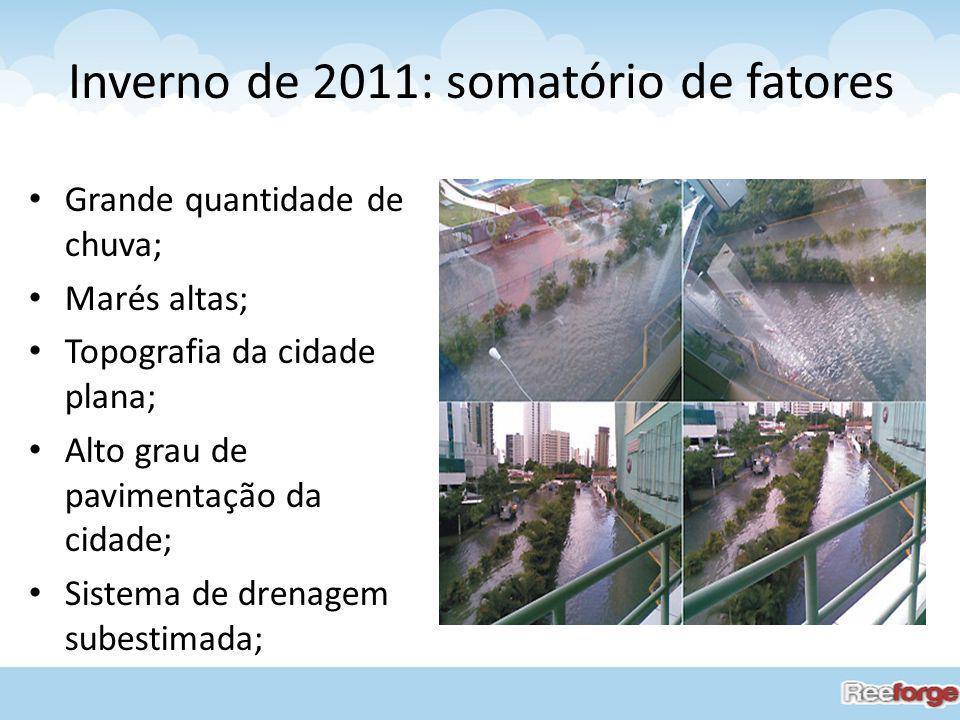 Inverno de 2011: somatório de fatores