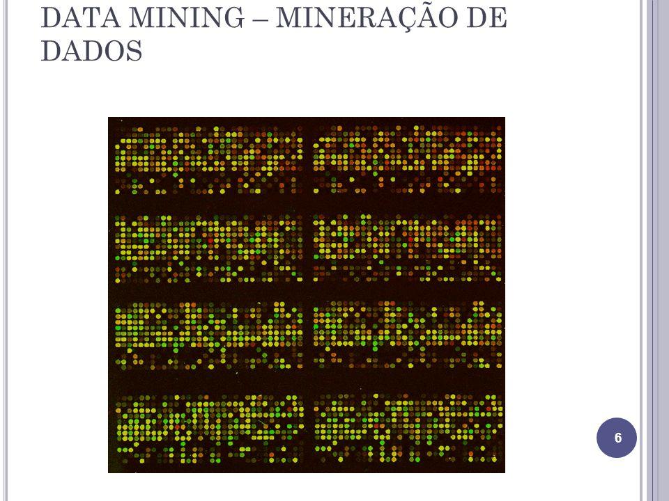 DATA MINING – MINERAÇÃO DE DADOS