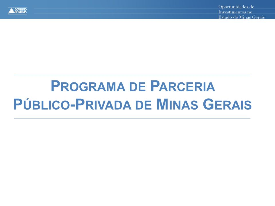 Público-Privada de Minas Gerais