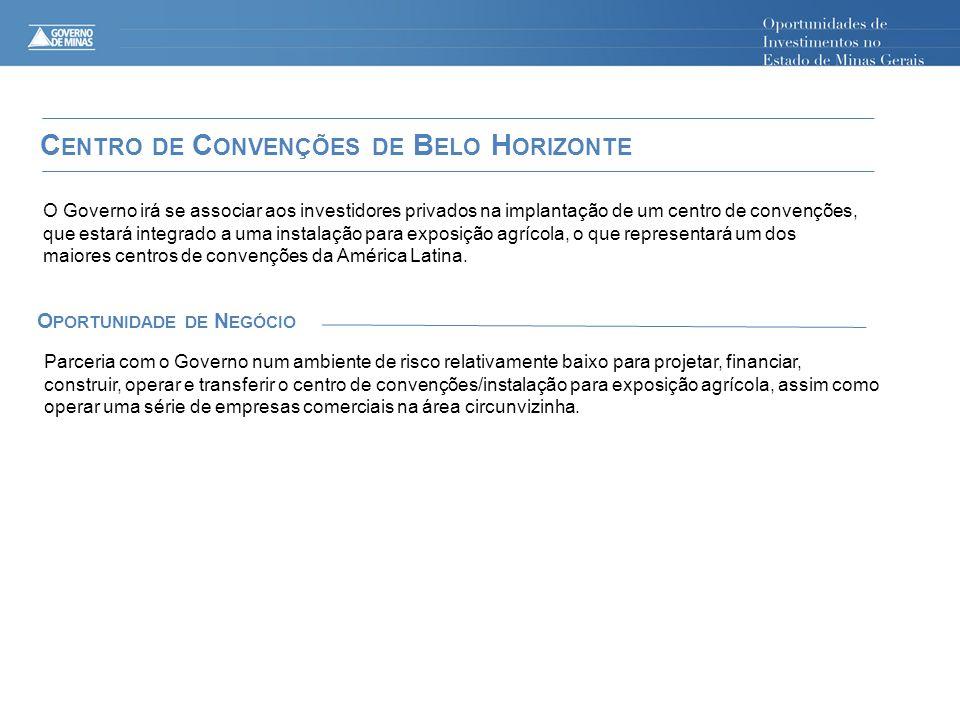Centro de Convenções de Belo Horizonte Oportunidade de Negócio